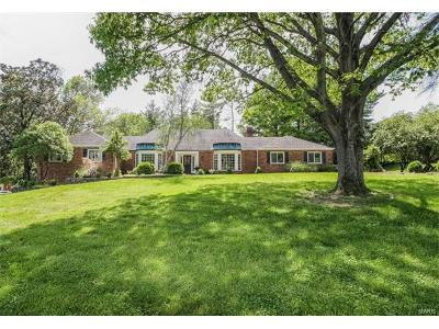 Town and Country Single Family Home For Sale: 1811 Manor Hill Road