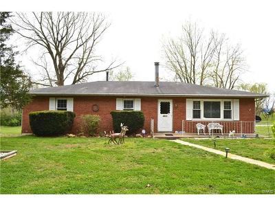 St Jacob Single Family Home For Sale: 8872 Schmalz Road