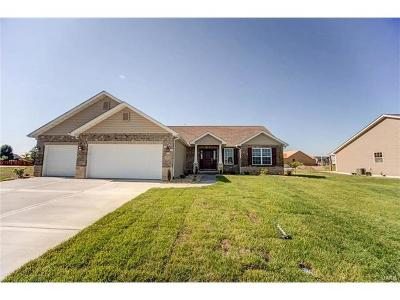 Mascoutah New Construction For Sale: 9722 Quapaw Court