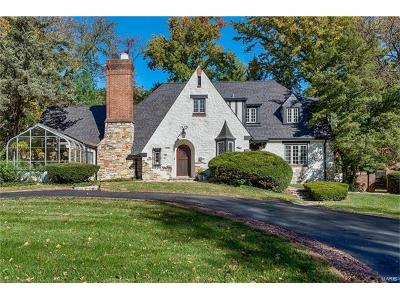 St Louis County Single Family Home For Sale: 1166 Hampton Park