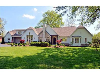 Creve Coeur Single Family Home For Sale: 324 South New Ballas Road