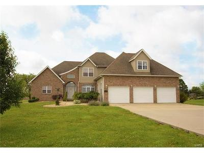 Edwardsville Single Family Home For Sale: 9010 Maple Road