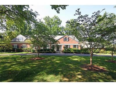 Ladue Single Family Home For Sale: 21 Clermont Lane
