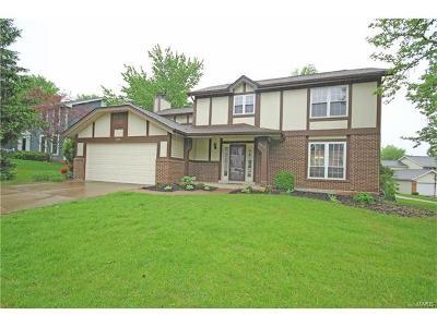 Ballwin Single Family Home For Sale: 1315 Eaglebrooke