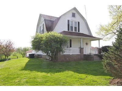 Bethalto IL Single Family Home For Sale: $241,000