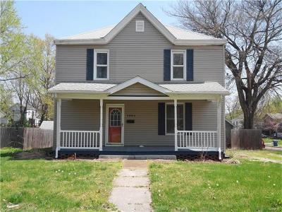 Alton IL Single Family Home For Sale: $79,900