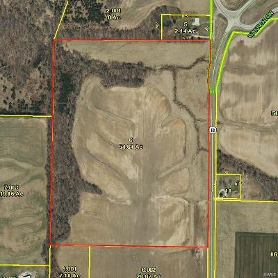 Warrenton Commercial For Sale: 54.64 Acres Hwy B