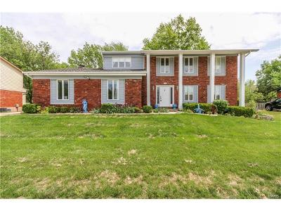 Des Peres Single Family Home For Sale: 2756 Barrett Station Road