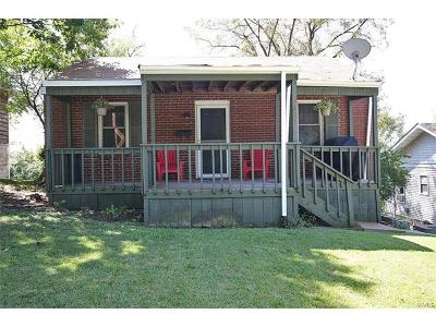 Alton IL Single Family Home For Sale: $52,500