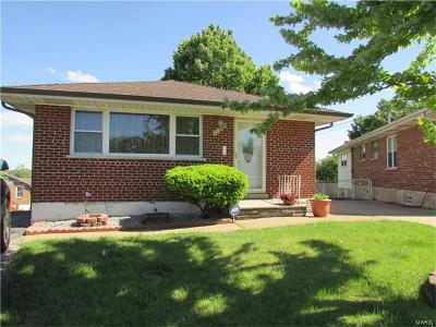 St Louis City County Single Family Home Contingent Short Sale: 4724 Collins