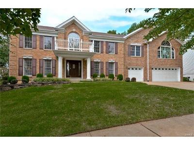 Ballwin Single Family Home For Sale: 755 Carman Meadows Drive