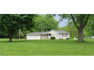 Collinsville Single Family Home For Sale: 7133 Lebanon Road