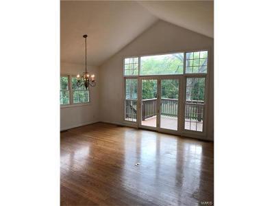 Ladue Single Family Home For Sale: 9550 Litzsinger Road