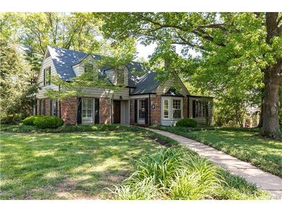 Ladue Single Family Home For Sale: 1 Treebrook Lane