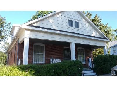 Hannibal MO Single Family Home For Sale: $62,000