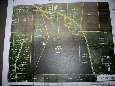 New London MO Farm For Sale: $119,900