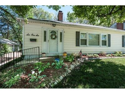 Webster Groves Single Family Home Option: 616 North Laclede Station Road