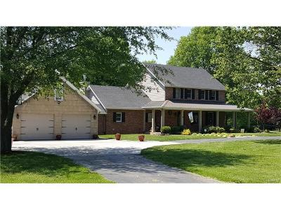 Edwardsville Single Family Home For Sale: 7160 Horseshoe Bend