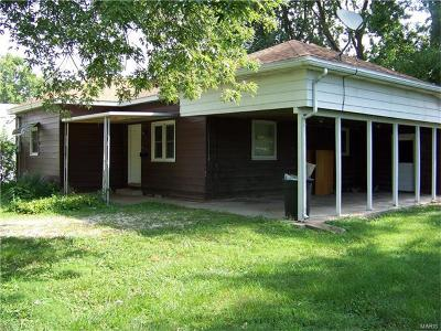 Bowling Green Single Family Home For Sale: 419 S. Cuivre