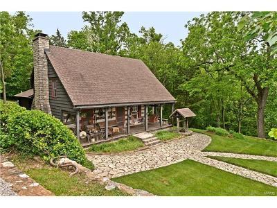 High Ridge Single Family Home For Sale: 3676 Holmes Log Cabin Lane
