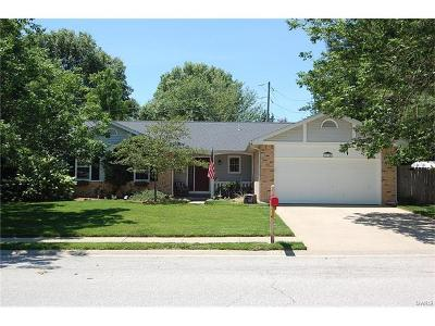 O Fallon Single Family Home Contingent w/Kickout: 1114 Creekside Court
