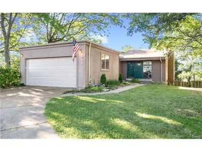 Ballwin Single Family Home Contingent No Kickout: 986 Imperial Pt