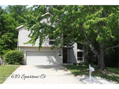 Single Family Home Option: 610 Sparrow Court