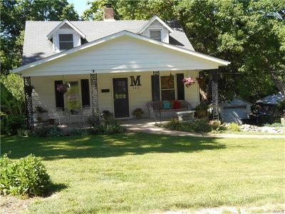 Webster Groves Single Family Home For Sale: 123 Saint George