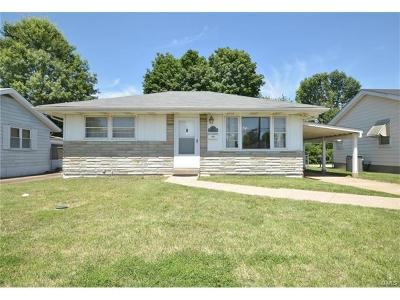 St Louis Single Family Home For Sale: 4153 Weber Road