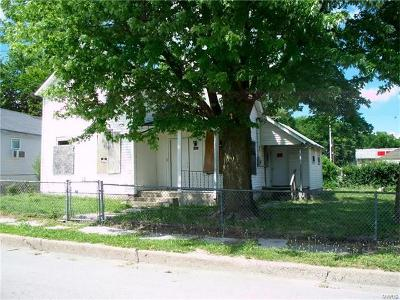 Hannibal MO Single Family Home For Sale: $11,500