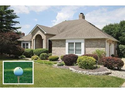 Edwardsville Single Family Home For Sale: 17 Country Club View