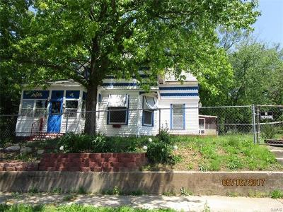 Hannibal MO Single Family Home For Sale: $29,900