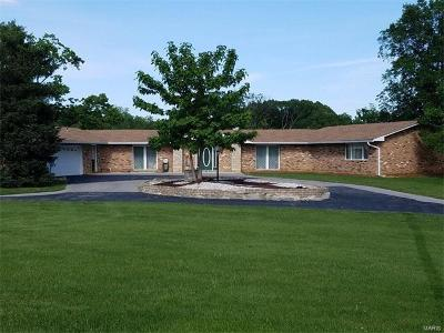 Godfrey IL Single Family Home For Sale: $299,900