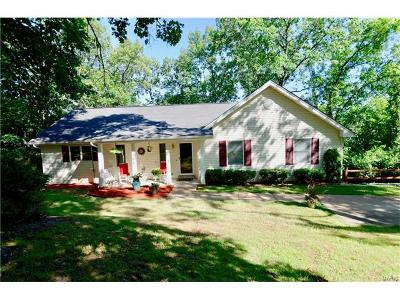 Wildwood Single Family Home For Sale: 4624 Cliff Forest Drive