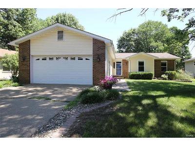 Glen Carbon Single Family Home For Sale: 7 Dogwood Lane
