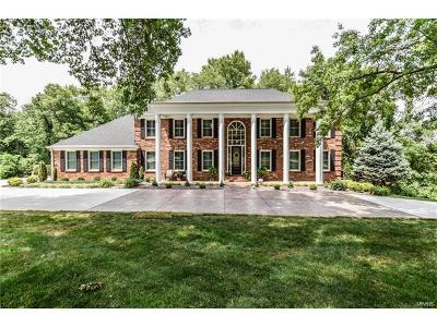 Ballwin, Chesterfield, Ellisville, Kirkwood, Manchester, Wildwood Single Family Home For Sale: 157 Herworth Drive