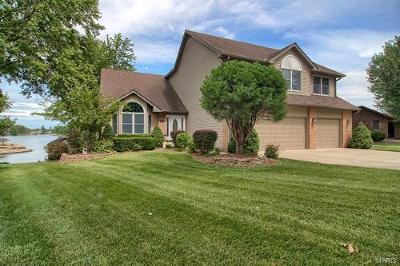 Edwardsville Single Family Home For Sale: 984 Holiday Point Parkway