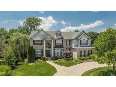Ballwin, Chesterfield, Ellisville, Kirkwood, Manchester, Wildwood Single Family Home For Sale: 1309 Eaglewinds Court