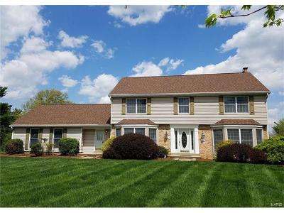 Chesterfield MO Single Family Home For Sale: $430,000