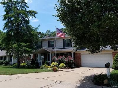 Des Peres Single Family Home For Sale: 917 Ridgetree Lane