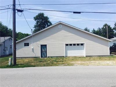 Jerseyville IL Single Family Home For Sale: $104,900