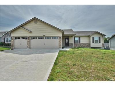 Foristell Single Family Home For Sale: 438 Prairie Creek