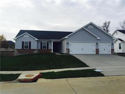 Wentzville Single Family Home Contingent No Kickout: 951 Mule Creek Drive
