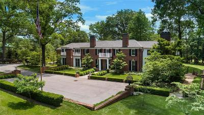 Ladue Single Family Home For Sale: 9936 Litzsinger Road