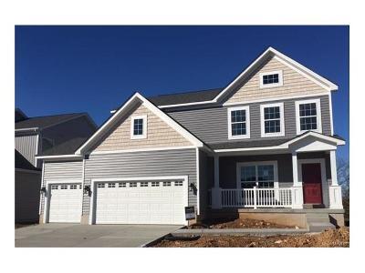 Oakville Single Family Home For Sale: 5941 Hawkins Ridge (Lot 18) Court