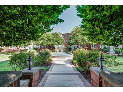 Clayton Condo/Townhouse For Sale: 7741 Kingsbury Boulevard #32