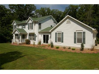 Wright City Single Family Home For Sale: 7 Forest Lake Drive