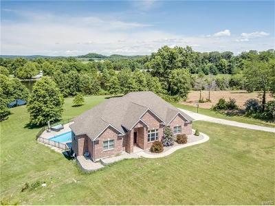 Marthasville Single Family Home For Sale: 17121 Bald Eagle Lane