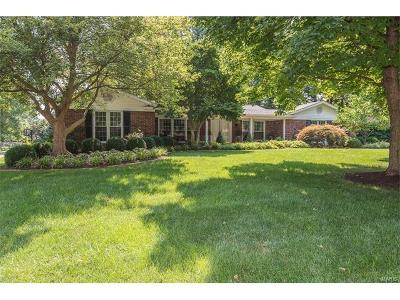 Chesterfield MO Single Family Home Contingent No Kickout: $425,000