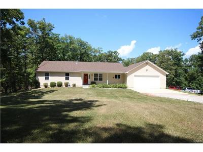 Warrenton Single Family Home For Sale: 25247 Pendleton Forest Road